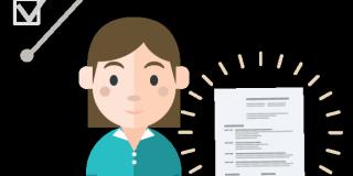 resume sample-girl