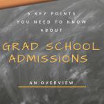 Grad School Admissions