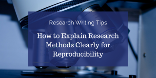 How to Explain Research Methods Clearly for Reproducibility