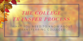 College Admissions - Transfer Applications Tips and Advice