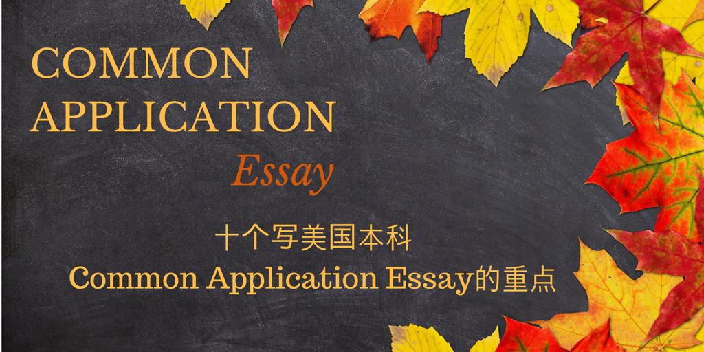 Common Application Essay (1)