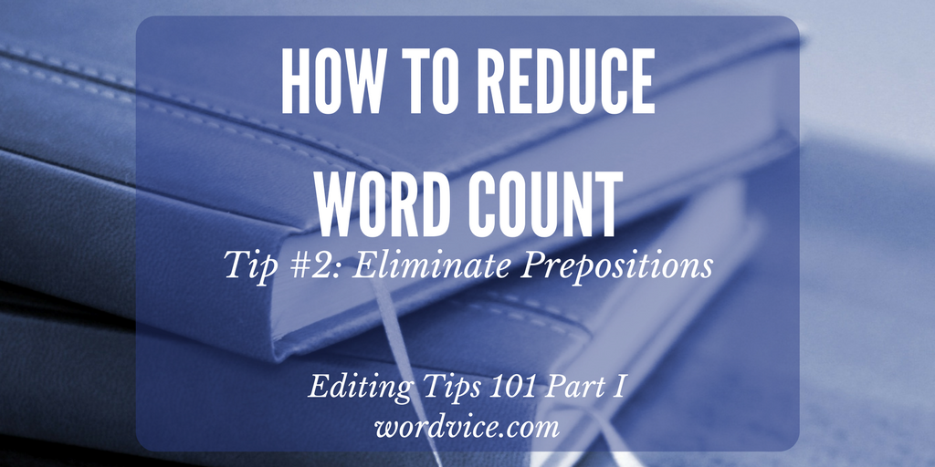 how to cut down essay word count