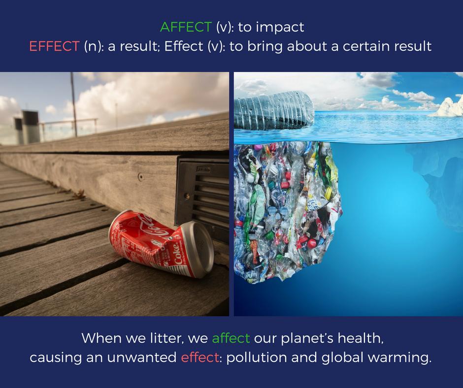 Affect vs. Effect