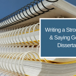 Dissertation Help: tips and advice for getting through the process!