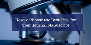 Guide to Writing Research Paper Article Titles