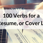100 Verbs to Use in a Resume