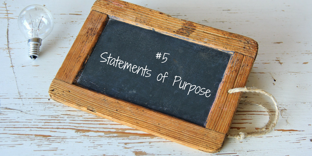 Grad School Statement of Purpose