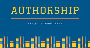 Dergi yazarlığının niçin önemli olduğuna dair bir makale.
