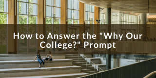 College Admissions - Why This School