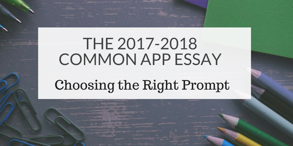 Choosing the Right Prompt