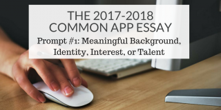 Common App Prompt 1 Thumbnail