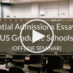 Essential Admissions Essays (Play Button)
