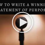 How to Write a Winning Statement of Purpose (Play Button)