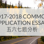 2018 Common Application Essay5678