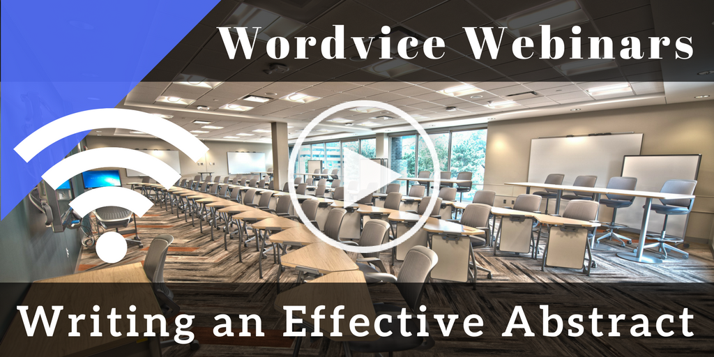 Webinar--Writing an Effective Abstract