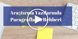 Araştırma Yazılarında Paragraflama Rehberi (APA, AMA)