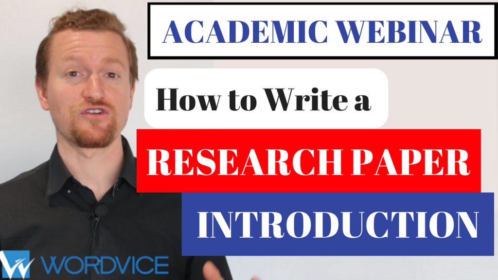 Research Paper Introduction Webinar Thumbnail