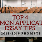 Common Application Essay Tips