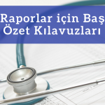 Medical Case Report Title and Abstract Guidelines