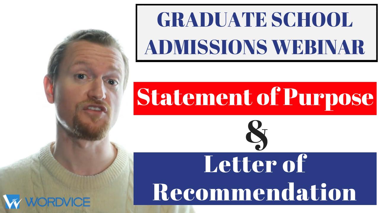 Graduate Admissions Webinar