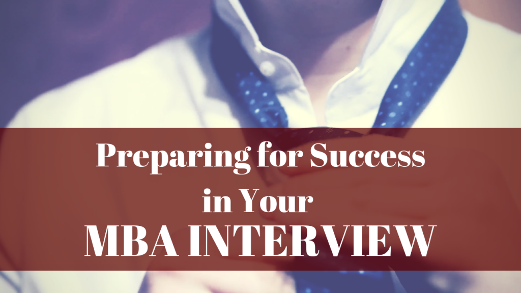 Preparing for a Successful MBA Interview :: Wordvice ::