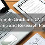 Sample Graduate CV for Academic and Research Positions