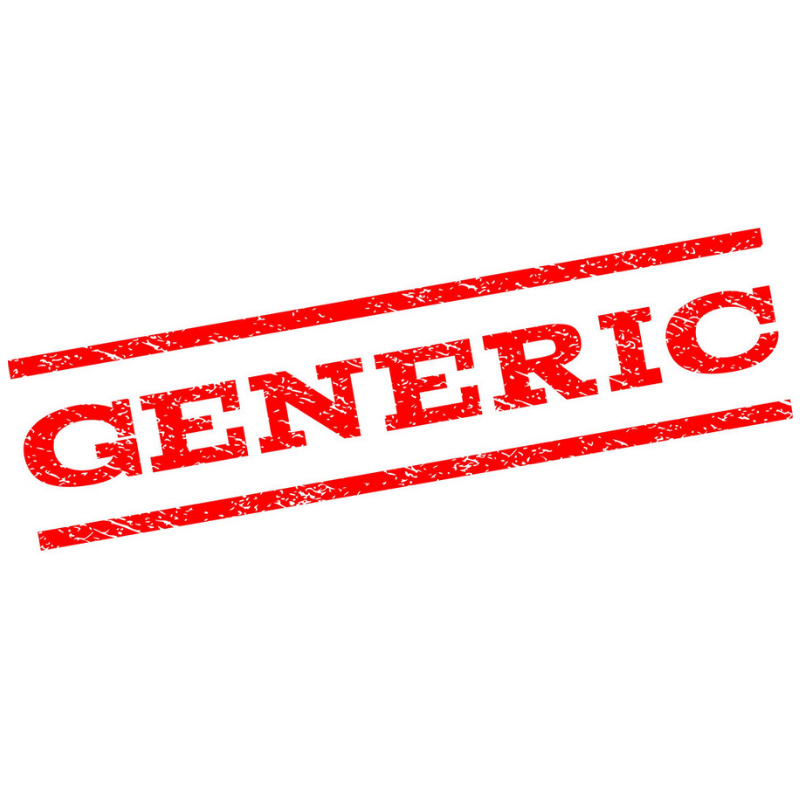 generic statement of purpose