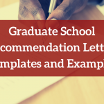 Letter of Recommendation Examples