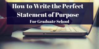 Writing a Statement of Purpose (2019)