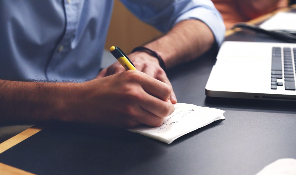 Write your ideas (or even your first draft) by hand before typing anything. This can help stimulate your creativity and jog your memory.