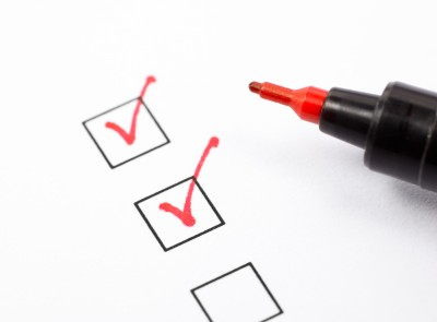 Most editors use a checklist to ensure they catch all errors in grammar, punctuation, and style.