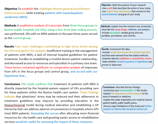 guidelines for writing a medical abstract