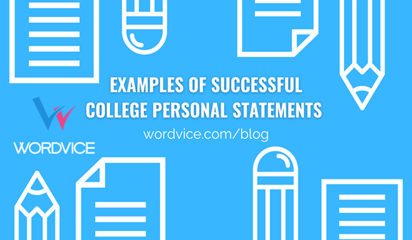 image for examples of successful college personal statements