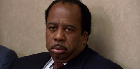 Stanley character from the Office
