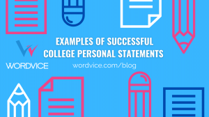 Be sure to check out successful personal statement examples