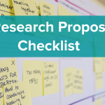 Research Proposal Checklist Example cover image
