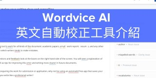 Introducing the Wordvice AI Proofreader